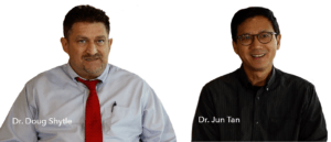 Dr. Doug Shytle and Dr. Jun Tan - Photo - Alzamend Neuro, Inc.